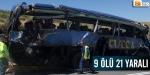 İspanyada trafik kazası...