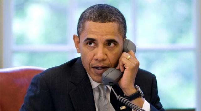 Obamadan Ukrayna için telefon trafiği