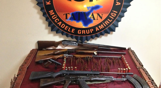 Bitliste silah operasyonu