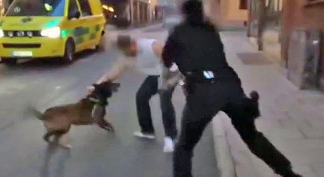 Kadın polisten meydan dayağı