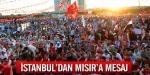 İstanbuldan Mısıra mesaj