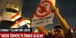 Mısırda darbe karşıtları Türkiyeyi örnek alacak