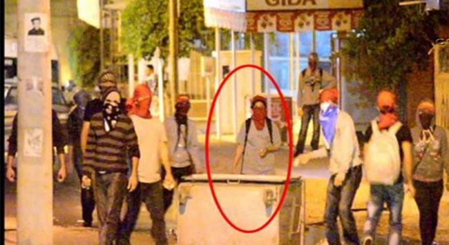 Polis kamerasından sokak olayları operasyonu