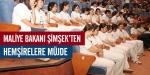 Maliye Bakanı Şimşekten hemşirelere müjde