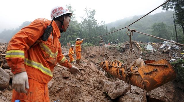 Çinde seli bilançosu korkunç