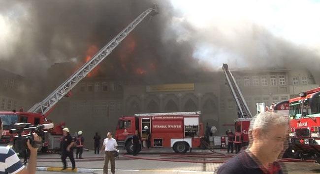 İstanbulda okul yangını