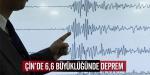 Çini deprem vurdu