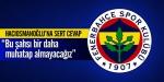 Trabzonspora sert cevap!
