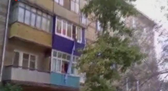 3. kattan düşerken kameralar kayıttaydı