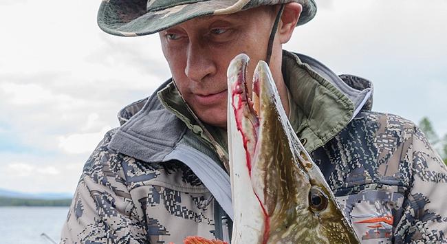 Putin Türk sularında balık avladı