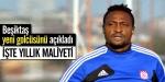 Beşiktaş yeni golcüsünü açıkladı