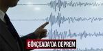 Gökçeadada deprem