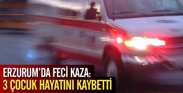 Feci kaza: 3 çocuk hayatını kaybetti