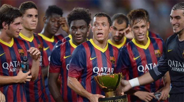 Barcelona ezdi geçti