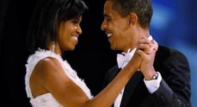 Obamaya eşinden sürpriz