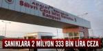 Ergenekon sanıklarına 2 milyon 333 bin lira ceza