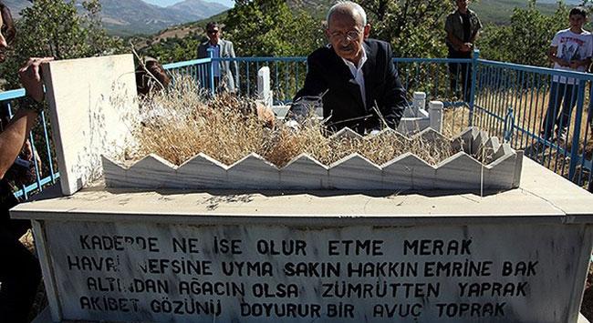 Kılıçdaroğlu aile kabristanını ziyaret etti