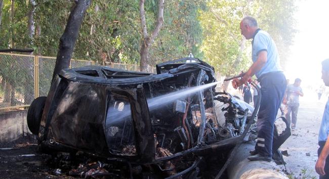 Adanada LPGli araç faciası: 4 ölü