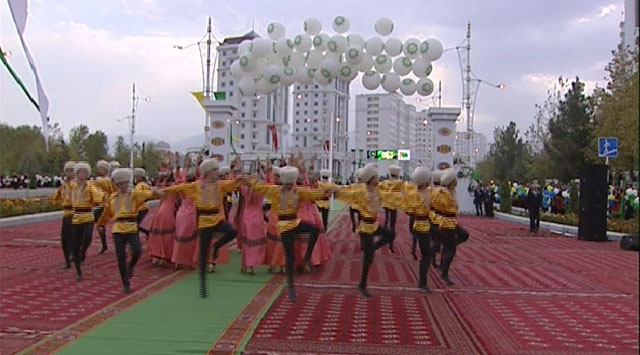 Türkmenistanda 200 Milyon Dolarlık Açılış