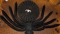 Dev Balon Örümcek Böyle Hazırlandı