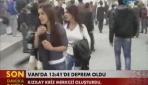 TRT Haber Deprem Bölgesinden İlk Görüntüler