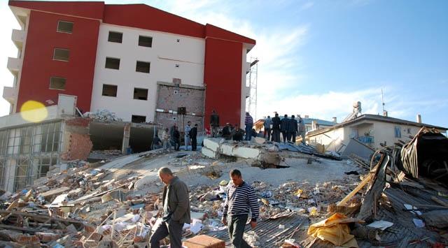 Vandaki Deprem Anı Kamerada