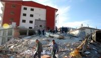 Van'daki Deprem Anı Kamerada