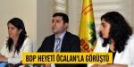 BDP heyeti Öcalanla görüştü