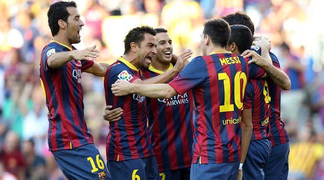 Barça 7 golle başladı