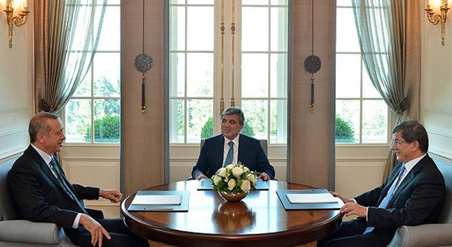 Cumhurbaşkanı Gül, Erdoğanla görüştü