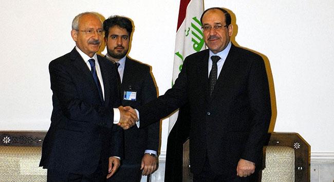 Kılıçdaroğlu, Maliki ile görüştü