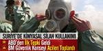 ABDden kimyasal katliama kınama