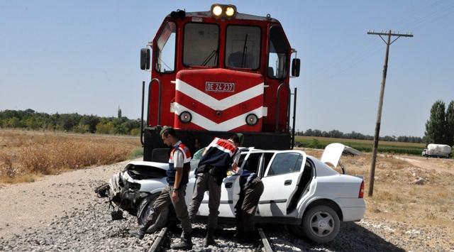 Malatyada tren kazası