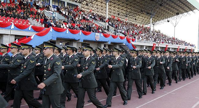 Jandarma Okullarında mezuniyet heyecanı