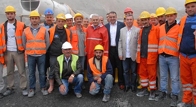 Türkiyenin en uzun tünelinde son durum