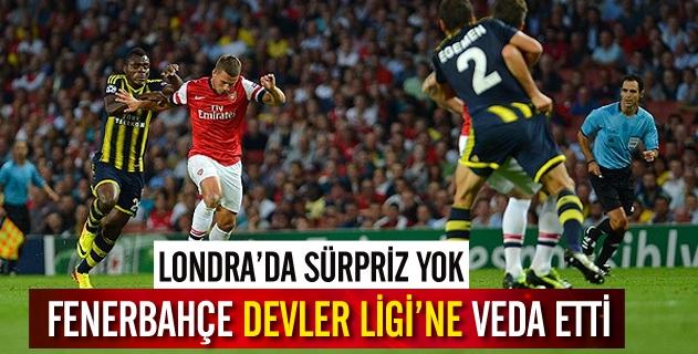 Fenerbahçe Devler Liginde havlu attı