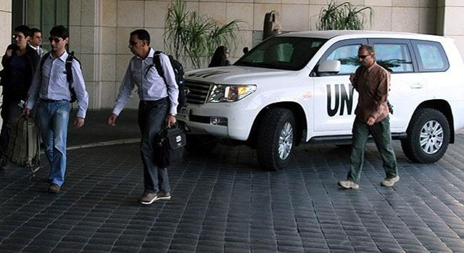 BM heyeti Suriyeden ayrıldı