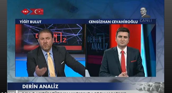 Yiğit Bulut TRT Haberde gündemi değerlendirdi