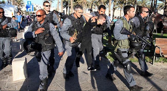 İsrail askeri Filistinlilere müdahale etti