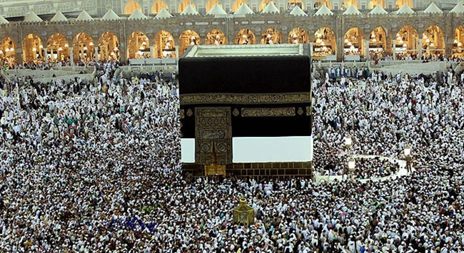 Hacı adaylarının Arafat heyecanı