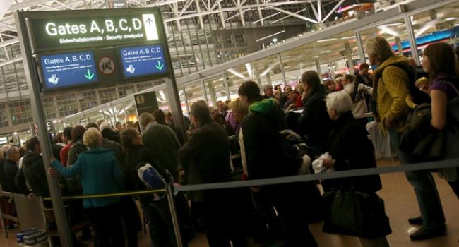 Düsseldorf Havalimanında alarm
