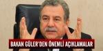 İçişleri Bakanı Gülerden önemli açıklamalar
