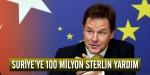 İngiltereden Suriyeye 100 milyon sterlin yardım