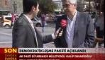Ensarioğlu, Demokratikleşme Paketini değerlendirdi