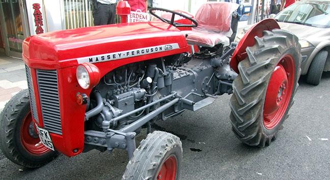 Bin TLlik traktörü 20 bin TLye yeniledi
