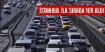 İstanbul ilk sırada yer aldı
