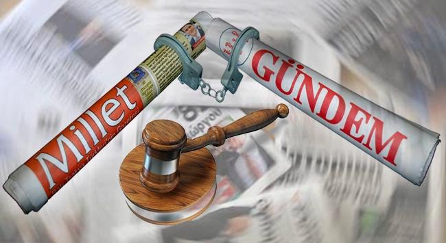 Türk gazetelerine yüksek para cezaları verildi