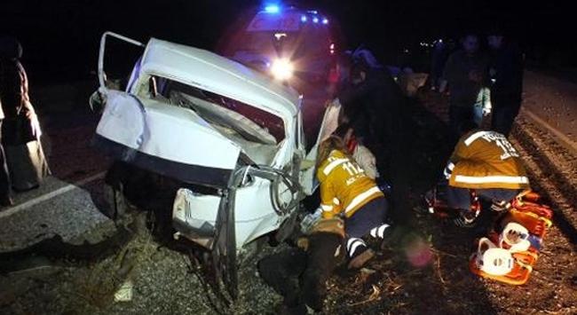 Yozgatta feci kaza: 1 ölü, 6 yaralı