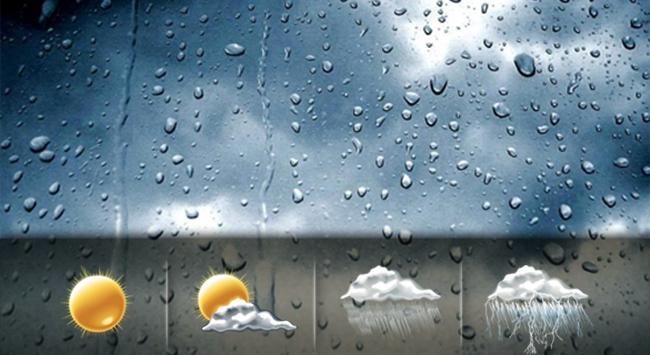 9 Ağustos 2015 Hava durumu