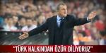 """""""Türk halkından özür diliyoruz"""""""